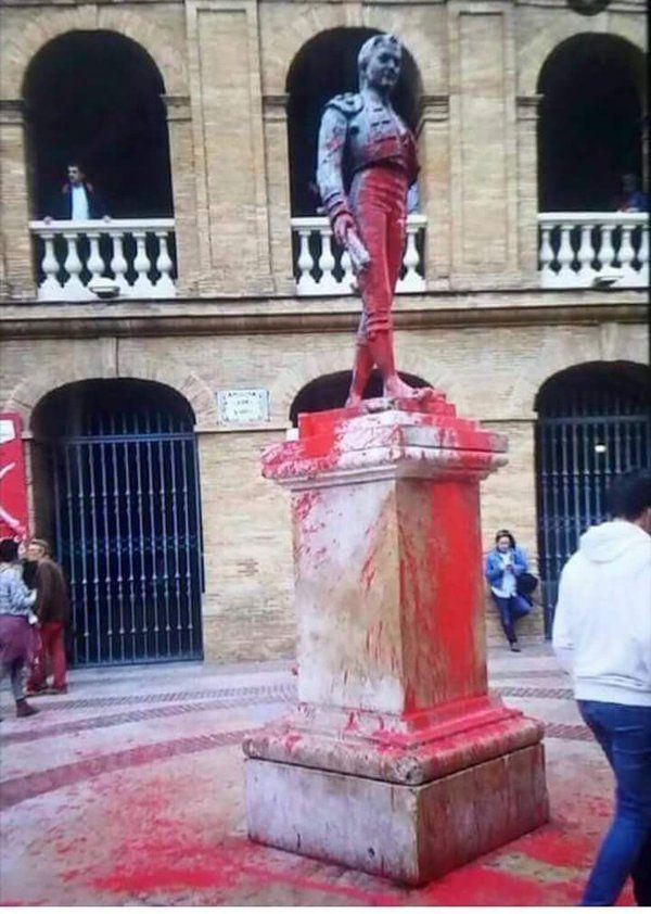En Valencia acción pancatalanista