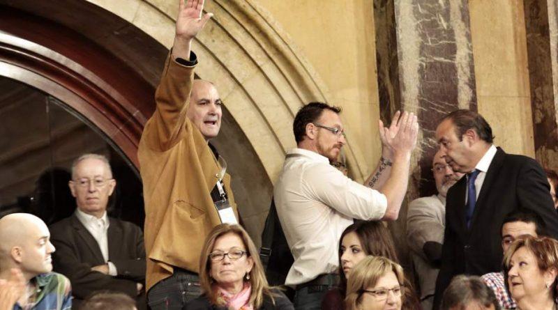 Miguel Bosch en el Parlamento de Cataluña