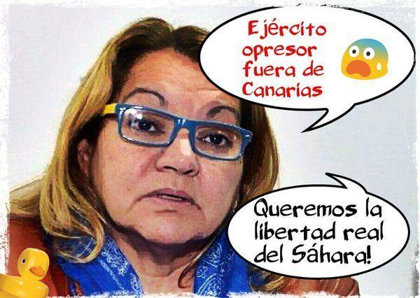 Podemos quiere al Ejército fuera de Canarias