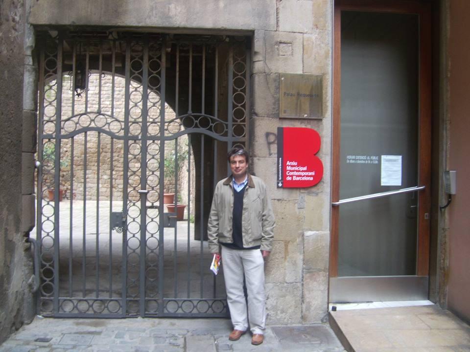 Policarpo Sánchez ya está en Barcelona