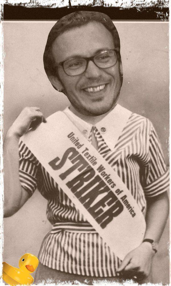 Er Kichi en huelga contra los asistentes a sus plenos municipales. No entienden que él es gente!