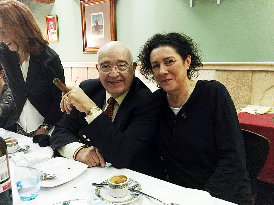 Ines con Mariano