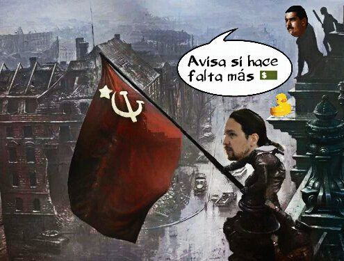 Podemos, sucursal del chavismo danés en España