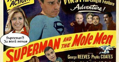 Superman contra los hombres topo