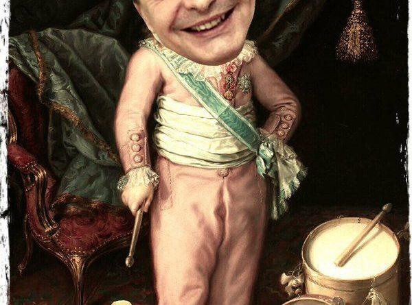 Zapatero es contratado para tocar la pandereta y el tamboril en el palacio de Maduro. Ilustración de Linda Galmor