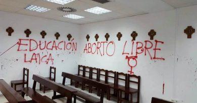 asaltado la capilla de la Universidad Autónoma de Madrid 2