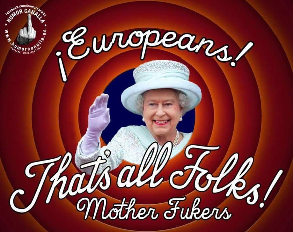 La reina se despide