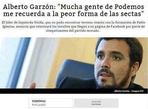 Los de Podemos son populistas comunistas