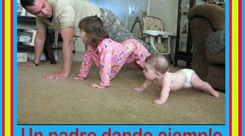 un-padre-dando-ejemplo