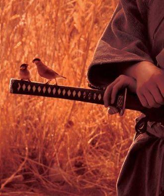 «Cuando el mundo está en paz, el auténtico guerrero reposa con su espada junto a él»
