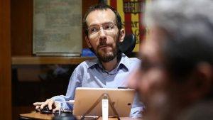 Echenique, número 3 de Podemos, acorralado por un caso de economía sumergida