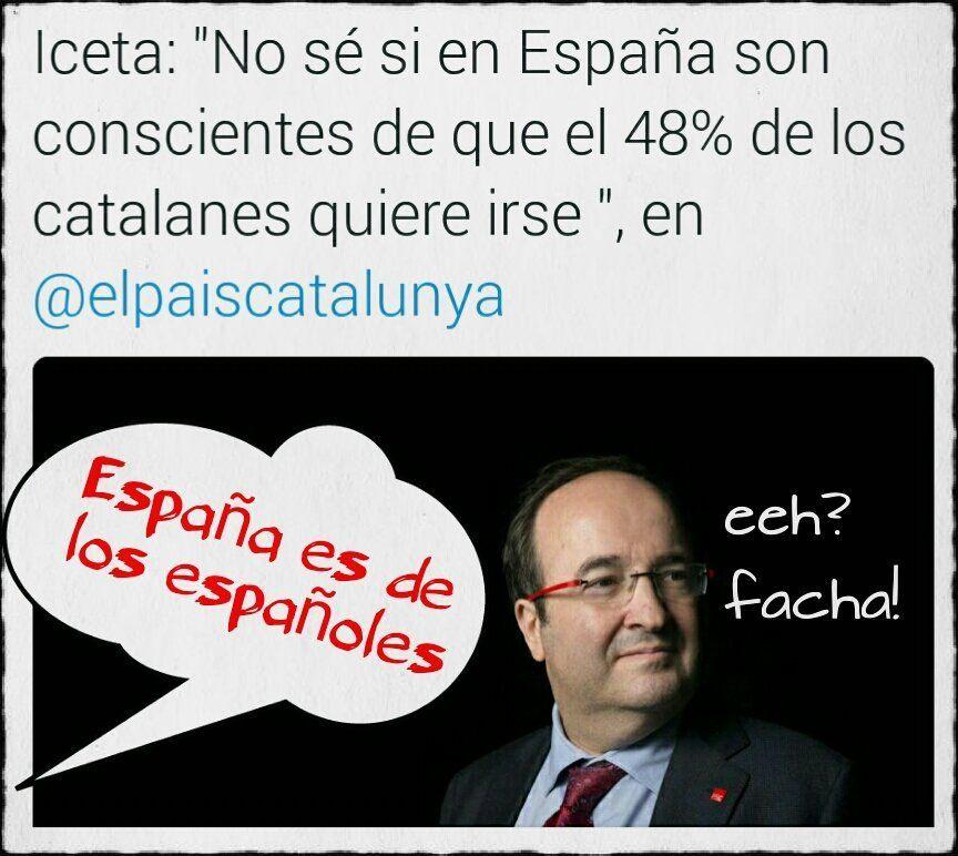 Los españoles estamos hartos de vosotros