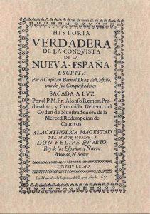Bernal Díaz del Castillo, quien hace mención del uso del cacao por los aztecas en su obra Historia verdadera de la conquista de la Nueva España