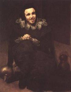 el bufón Calabacillas, de Velázquez.