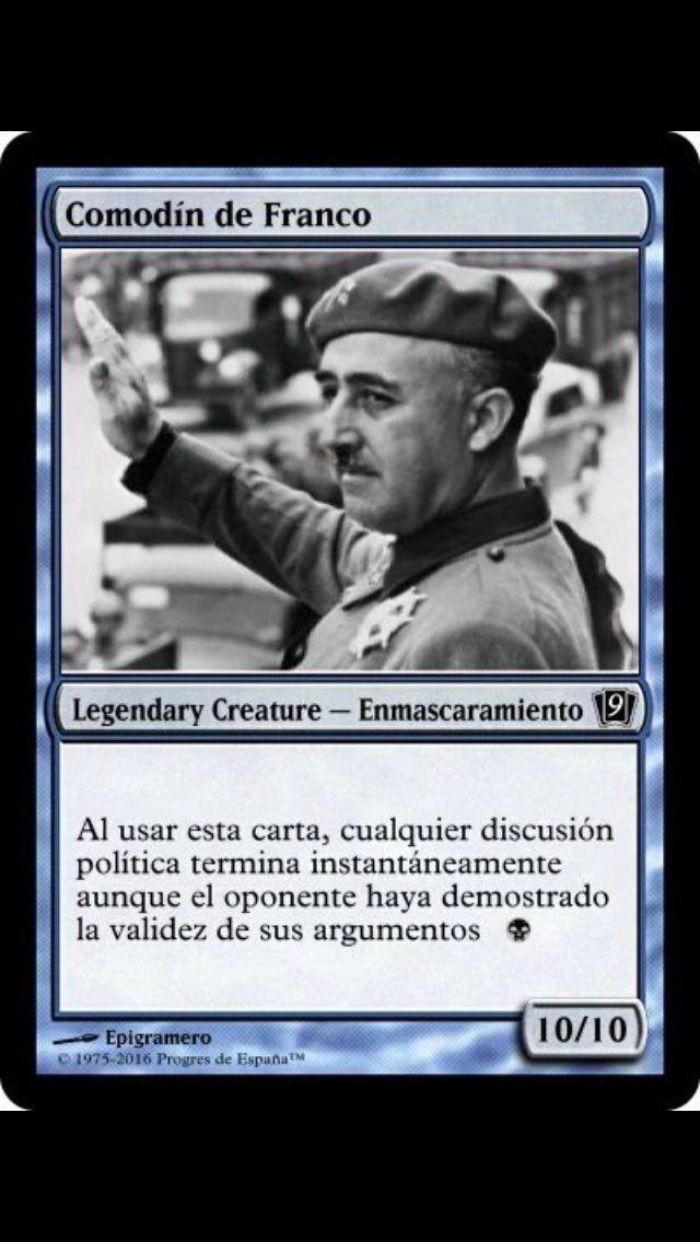 El comodín de Franco