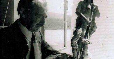 el sanroqueño Luis Ortega Brú que con sus manos inmortaliza a los héroes como Susarte