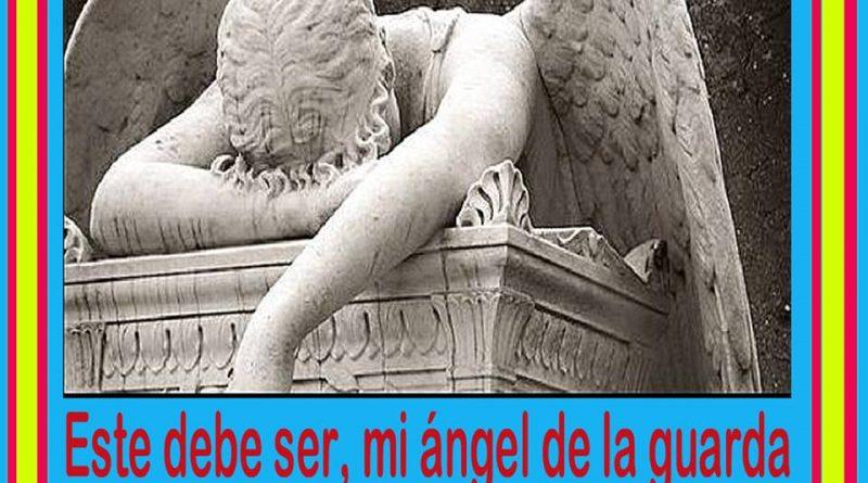 Este debe ser mi ángel de la guarda