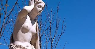 La estatua de Andrómaca en Madrid