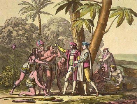 Se considera que Hernán Cotés fue el primer europeo en probarlo