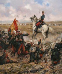 Campaña del Rif, defensa de Melilla 1893. Dalnau