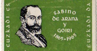 Sabino Arana fundador del PNV nació Un 26 de enero de 1865
