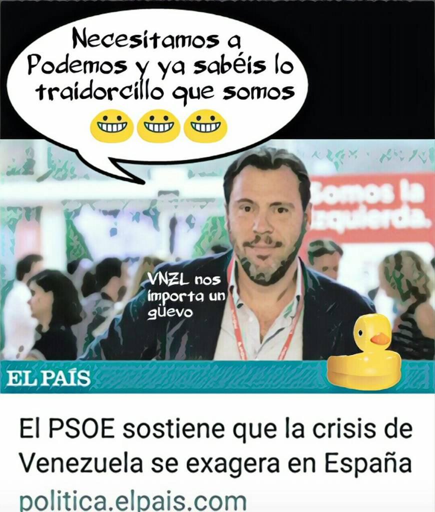 PSOE se desmarca de la condena internacional a la dictadura socialista chavista