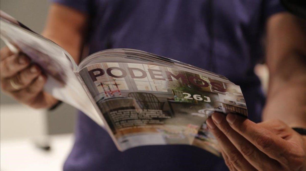 El programa electoral de Podemos para el 26 J