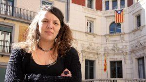 Investigan a la alcaldesa de Berga por no retirar la estelada durante las elecciones