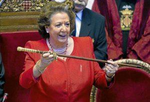 la alcaldesa Rita Barberá