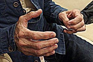 Las manos de un cruzado. Entrevista con Arteta. Foto de Juan Miguel Novoa