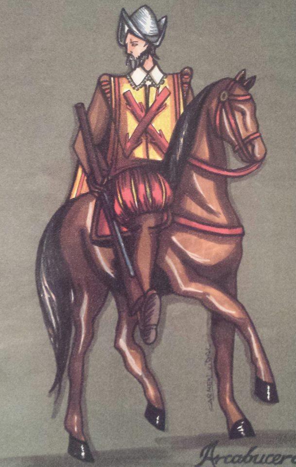 caballero-espanol-con-la-cruz-de-borgona