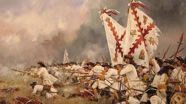 """""""El Regimiento de Asturias"""" obra de Ferrer Dalmau"""