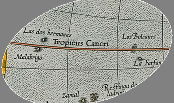 (América o Nuevas Indias) 1613. Detalle