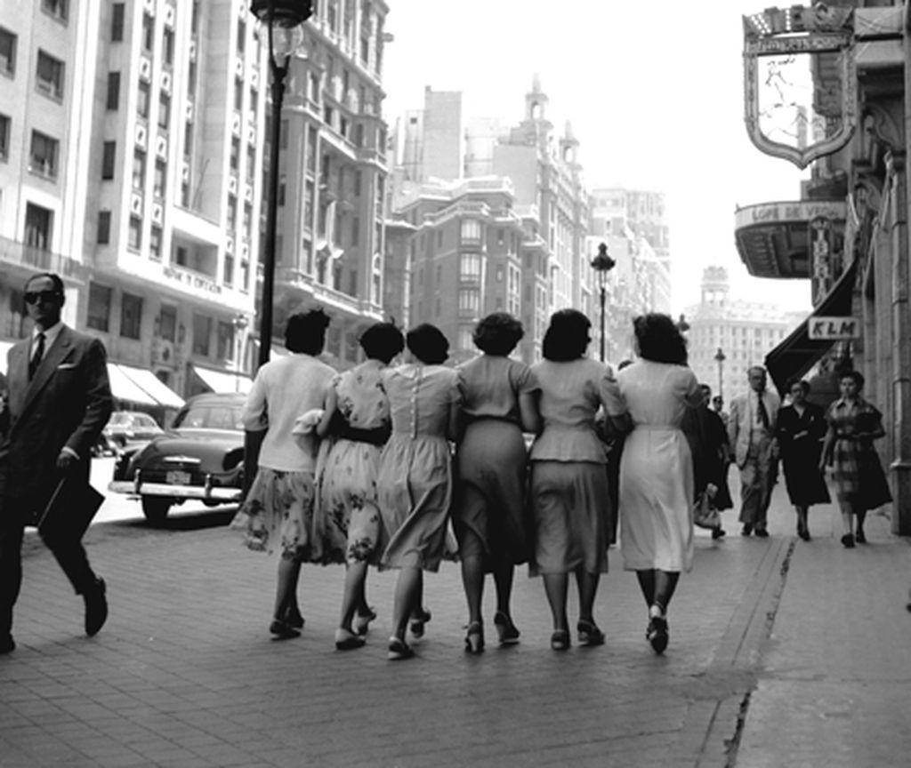 Así también fueron los años 50 en blanco y negro de nuestros progenitores