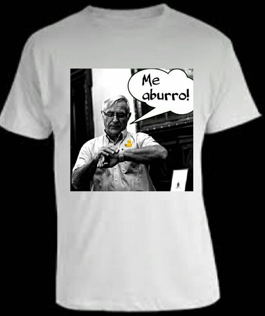 Camiseta pijoprogre versión valenciana