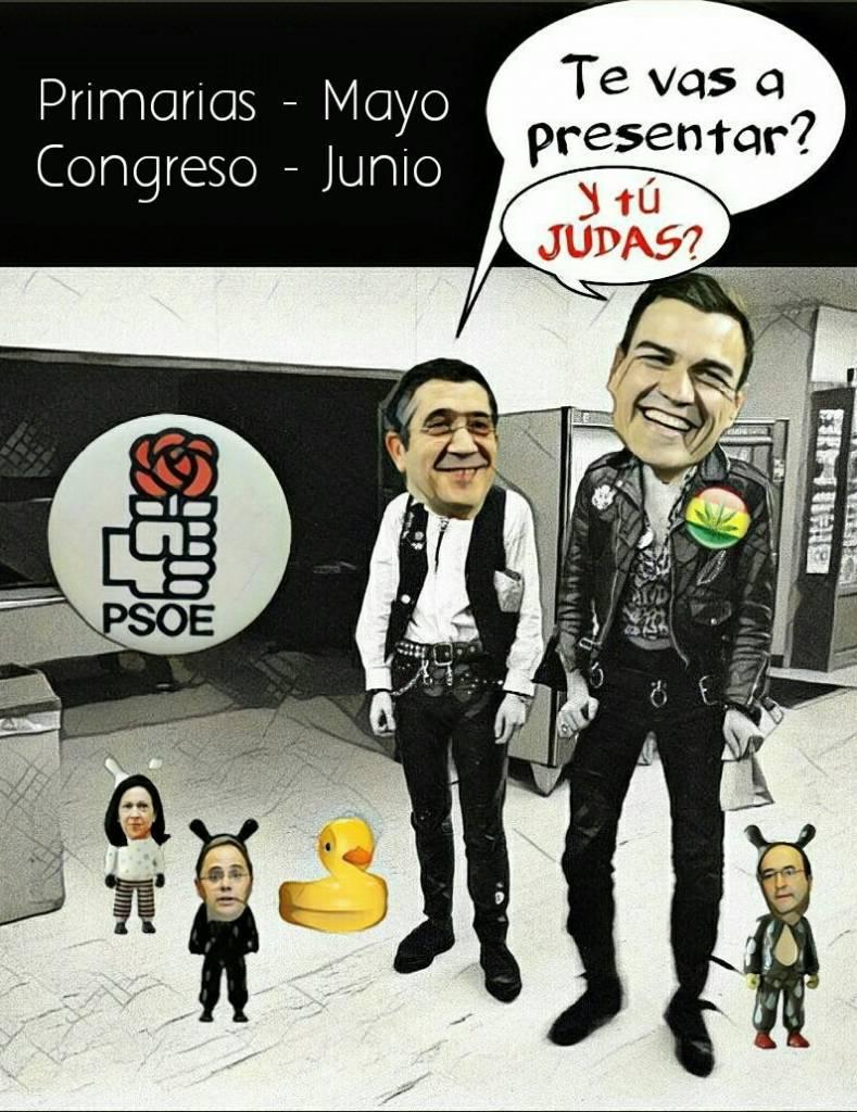 Casting en el PSOE. Después de un tontolaba y de un guapetón, qué eligirán ahora