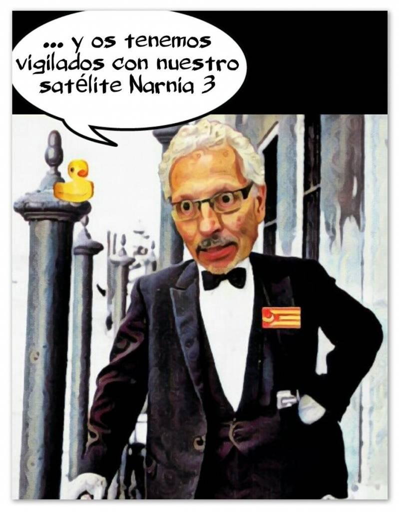 El James Bond de la República de Narnia acojona a los catalanes con lo que tienen preparado para ellos