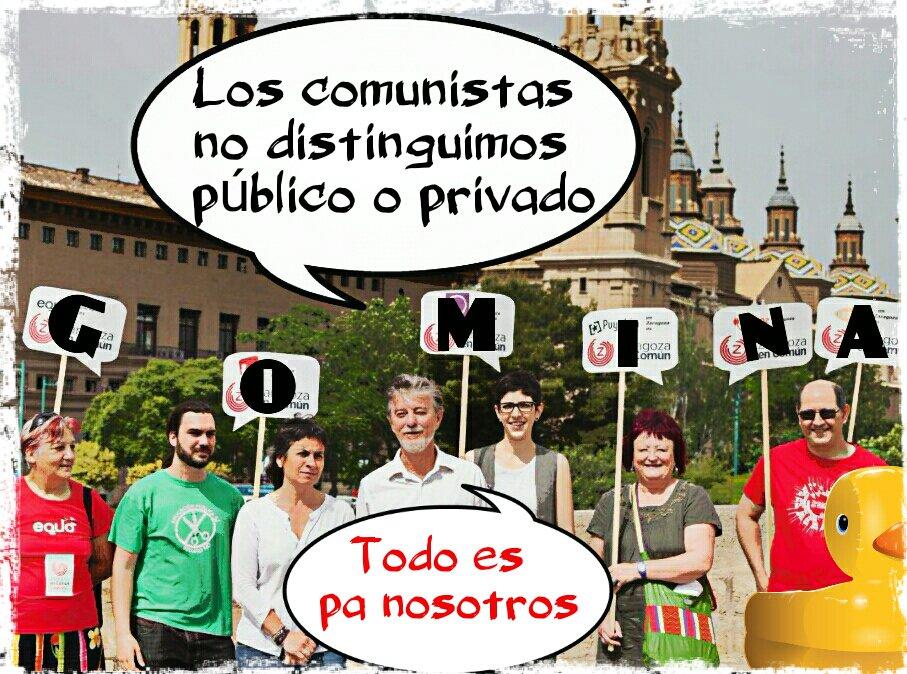 El alcalde podemita de la gomina free en Zaragoza dice que quiere una Academia Militar no militarizada