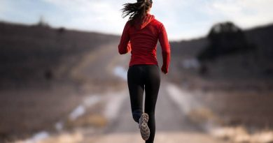 Girl Running Beautiful