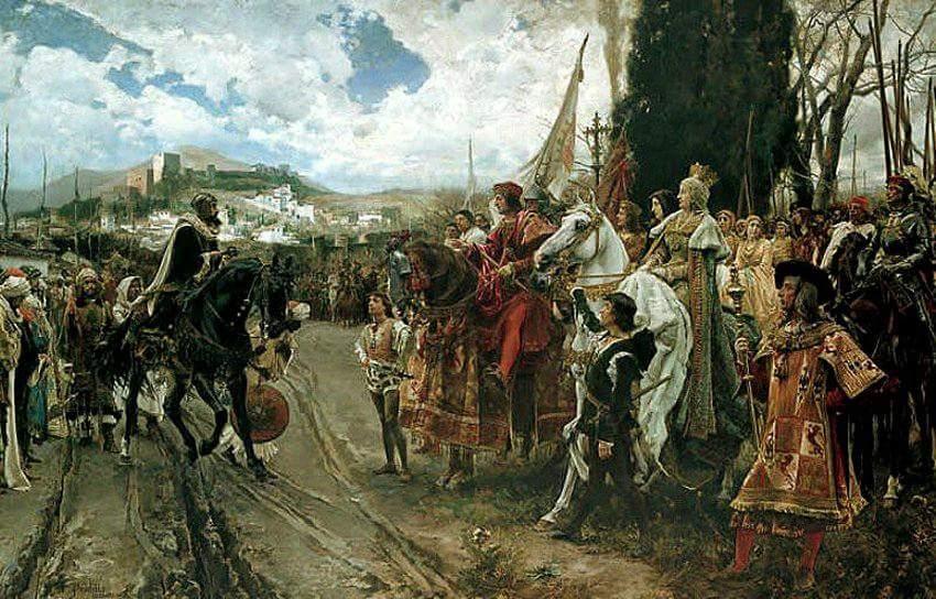 Hoy 2 de Enero celebramos el aniversario de la Reconquista de Granada que sucedió tal día como hoy en 1492