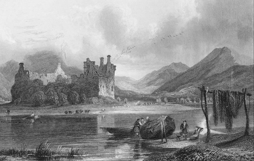 La situación del castillo Kilchurn es espectacular