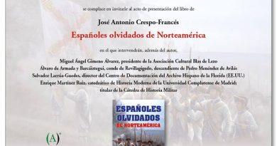 PRESENTACIÓN DEL LIBRO ESPAÑOLES OLVIDADOS DE NORTEAMÉRICA