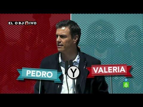 Pedro Sánchez y Valeria