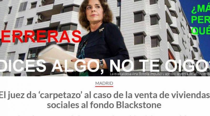 el caso de la venta de 1.860 viviendas sociales de la Empresa Municipal de la Vivienda y Suelo