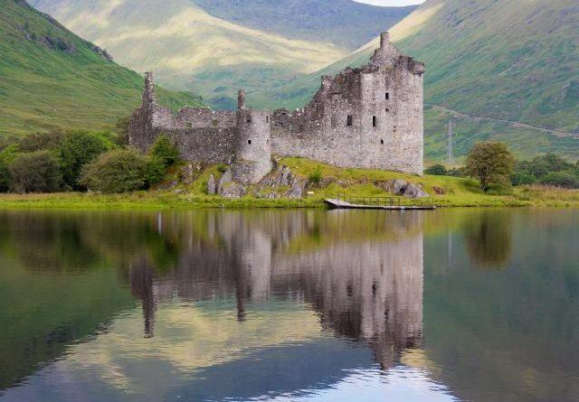 el castillo Kilchurn