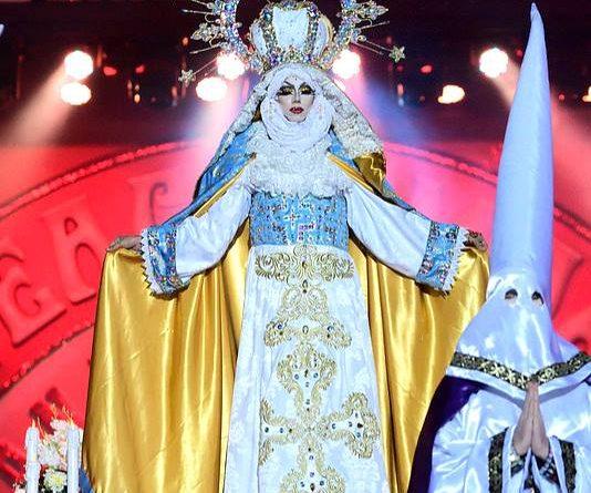 Carnaval drag. Ilustración de Juan Padrón Sabina