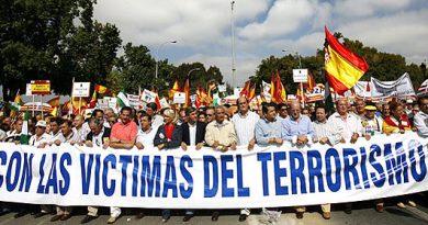Con las víctimas del terrorismo