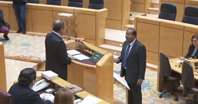 El político de ERC de origen indio Robert Masih releva en el Senado al dimitido Santiago Vidal