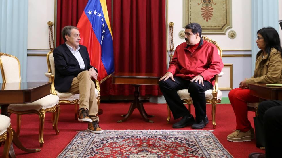 Esta imagen de Zapatero es una puñalada para los presos políticos venezolanos y una vergüenza para los demócratas españoles, pero el contador de nubes