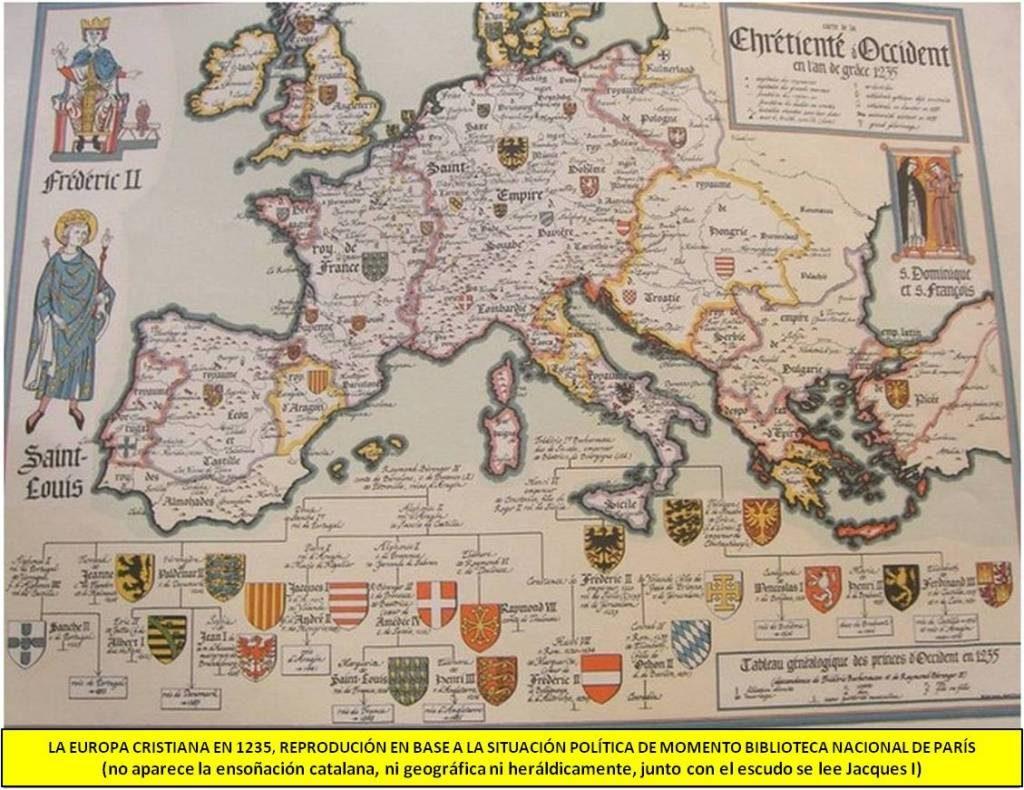 Europa cristiana en 1235